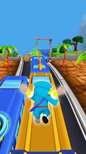 Subway Ninja Hattori Run screenshot 1
