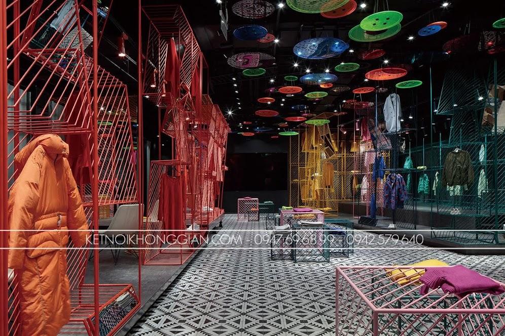 thiết kế shop thời trang JOOOS 2