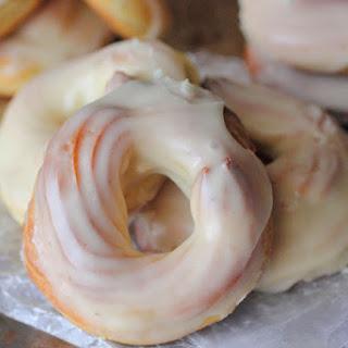 French Cruller Doughnuts.