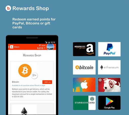 bituro - Rewards & Bitcoins 1.11.1 Screenshots 5
