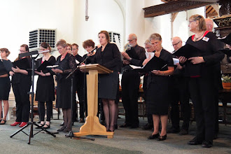 Photo: Vocaal Theologen Ensemble onder leiding van Hanna Rijken