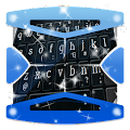 Black Chrome Keyboard Theme