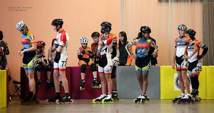 Photo: Les juniors (à gauche) et cadets (à droite).