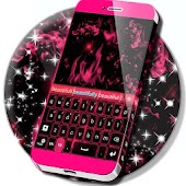 Pink Purple For GO Keyboard