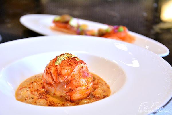 德朗餐廳De Loin Restaurant。內湖頂級法式藝術龍蝦料理