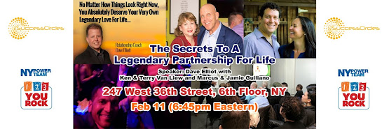 The Secrets to a Legendary Partnership for Life! with Dave Elliott