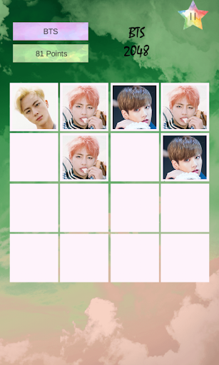 ? BTS Bangtan 2048 Puzzle 1.2 screenshots 1