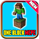 One Block Survival Minecraft Map icon
