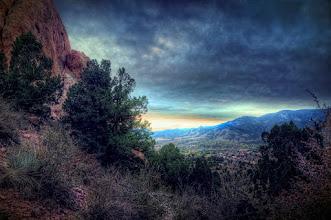 Photo: From Colorado's Garden of the Gods near Colorado Springs.
