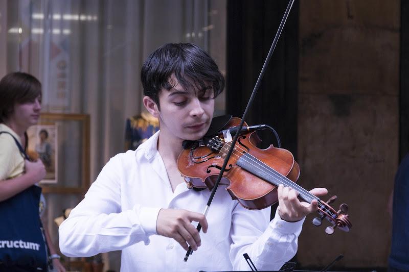 Il violinista di deborah marchese ragona