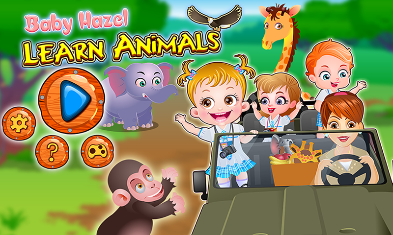 Baby Hazel Learn Animals – Baby Hazel World