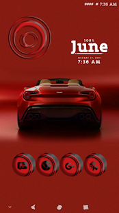 Linoleum Red Icons Pack- screenshot thumbnail
