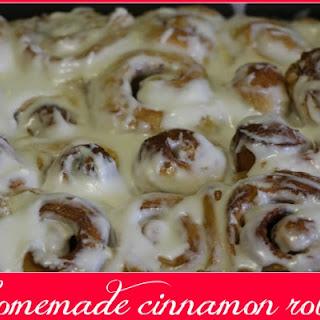 Easy Homemade Cinnamon Rolls #linky