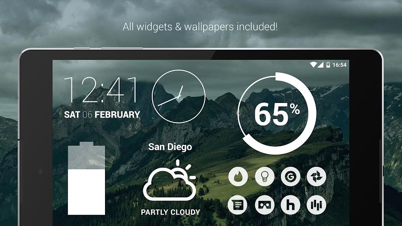 Flight - Flat Minimalist Icons (Pro Version) Screenshot 17