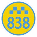 Taxi 838 - заказ такси онлайн icon