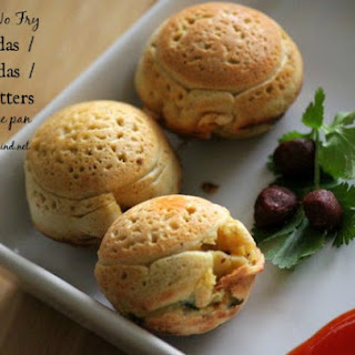 Batata Vada / Aloo Bonda made in Appe pan