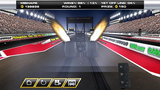 Dragster Mayhem - Top Fuel Sim- screenshot thumbnail