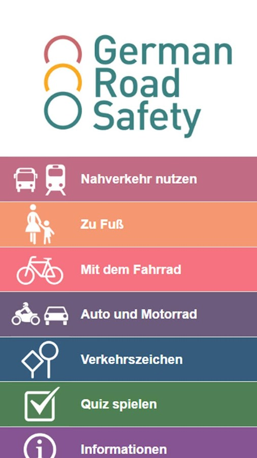 German Road Safety – Screenshot