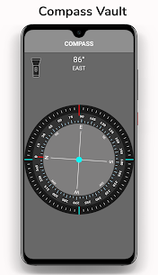 Hide photo video:Compass Flashlight Gallery Vault App Download for Android 1