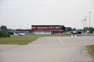 Photo: Kort stopp på Aarhus Lufthavn.