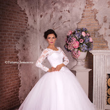 Wedding photographer Tatyana Semenova (Semenova02). Photo of 23.10.2015