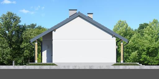 Dom przy Bukowej 16 - Elewacja prawa