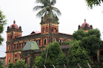 Photo: Year 2 Day 54 - One of the Two Towers in the Government Buildings in Yangon