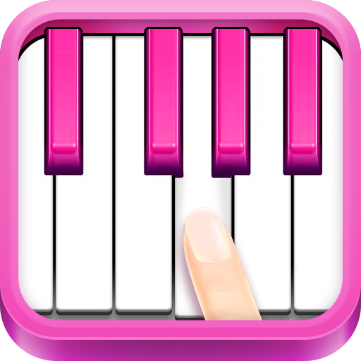 Real Pink Piano - Instruments Simulator Music Kid Android APK Download Free By 4KID GAMES
