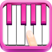 Real Pink Piano - Instruments Music Kid Piano Cat Icon
