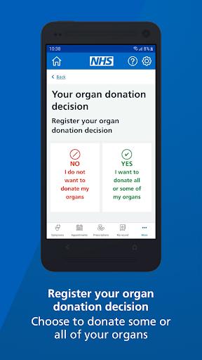 NHS App screenshot 6