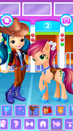 Pony & Girl Dress Up filehippodl screenshot 6