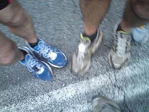 Photo: les pieds du Footing