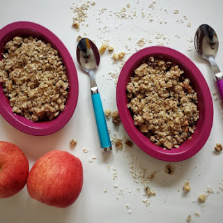 Apple Walnut Crumble