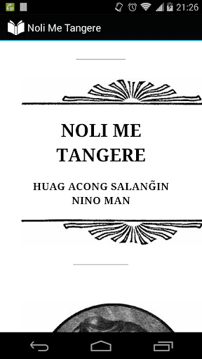 book summary of noli me tangere tagalog Arts and literature (active menu item) literary classics: ibong adarna, florante at laura, noli me tangere and el filibusterismo (active menu item.