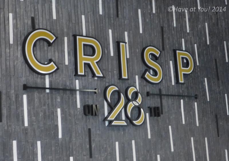 Crisp on 28th logo