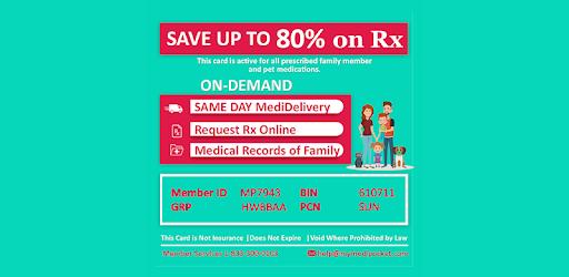 MediPocket - Rx Savings With On-Demand Delivery - መተግባሪያዎች