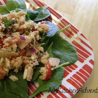 Mediterranean Style Tuna Salad.
