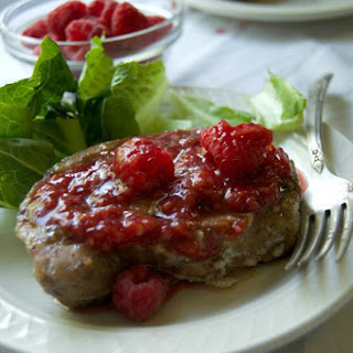 Raspberry Balsamic Pork Chops