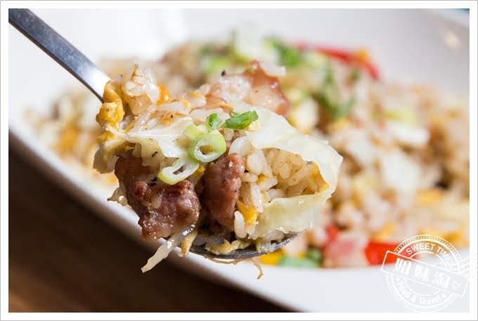 屏東南國咖啡鹹豬肉炒飯