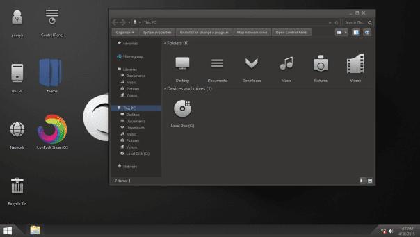 bộ icon tuyệt đẹp cho windows