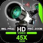 Telescope 45x Zoom Camera (Photo and Video) 1.3 (Pro)