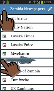 Zambia Newspapers 1