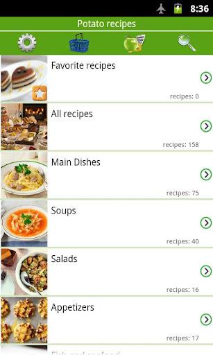 Potato recipes 5.9.4 screenshots 1