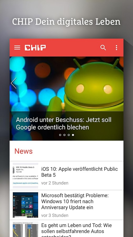 CHIP - News, Tests & Beratung- screenshot