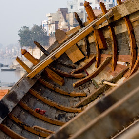 boat by Santosh Pandey - Artistic Objects Other Objects