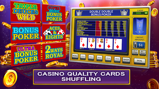 Video Poker High Limit 1.3.1 {cheat|hack|gameplay|apk mod|resources generator} 4