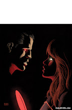 Photo: THE VALIANT #3. 2014. Ink(ed by Joe Rivera) on bristol board with digital color, 11 × 17″.