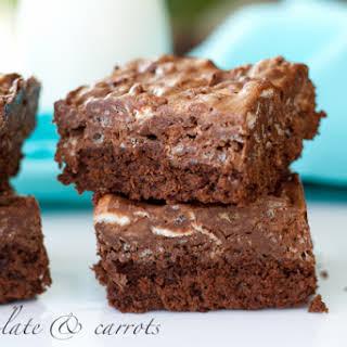 Chocolate Crispy Brownies.