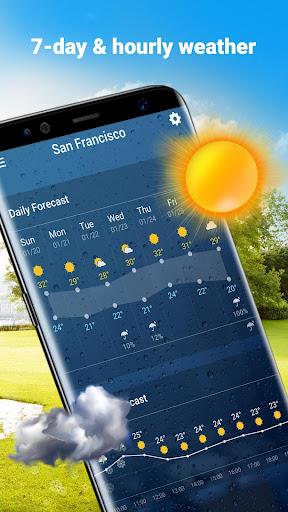 Weather Widget & Battery Checker  screenshots 6