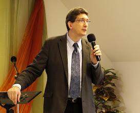 Photo: 2010. október 24-én Paul Gracza, a Pünkösdi Teológiai Főiskola rektora volt Gyülekezetünk vendége